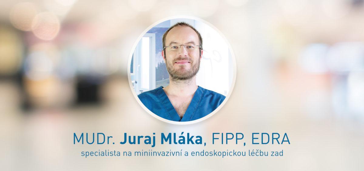 MUDr. Juraj Mláka, FIPP, EDRA